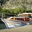 Stock Photo: Luxury cabin cruiser