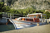 Luxury cabin cruiser — Stock Photo