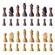 Complete chess set — Stock Photo