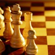Chess king and queen — Stock Photo #35528841