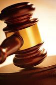 Soudce nebo dražebníků palička — Stock fotografie