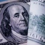 Portrait of Benjamin Franklin — Stock Photo #48483987