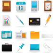Vector set of office web elements — Stockvector  #4909094