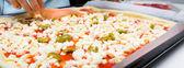 Pizza italienne maison — Photo
