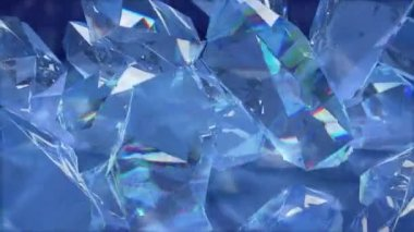 Shimmering diamonds — Stock Video