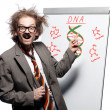 Crazy professor - Stock Photo