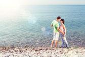 Ponto de encontro à beira-mar — Foto Stock