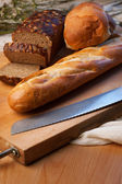 Fresh Bread — Stock fotografie