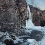 Winter waterfall — Stock Photo #18678051