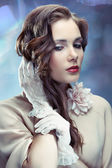 Glamourous young woman — Stock Photo