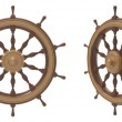 Shipborne wheel — Stockfoto
