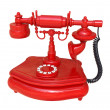 Royalty-Free Stock Photo: Red phone
