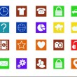 Different icons — Stockfoto #26459099