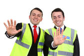 A pair of guards — Stock Photo