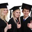 Three graduates — Stock Photo #26219507