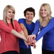 Group of friends together — Stock Photo #26334367