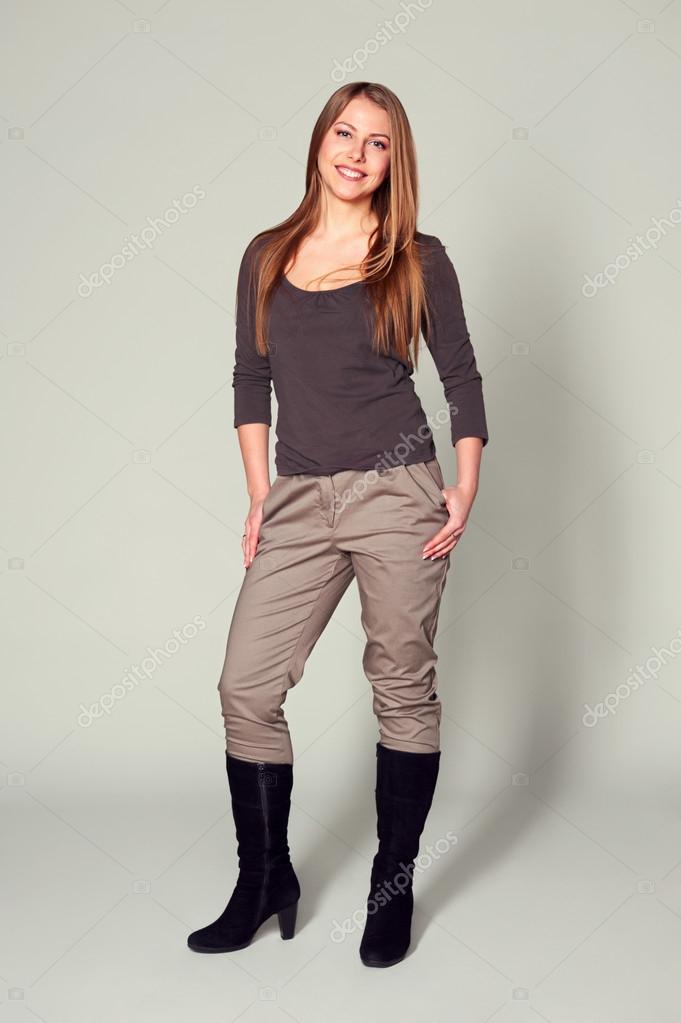 фото женщин в сапогах