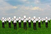 Dav podnikatelů — Stock fotografie