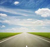 Beautiful view of roadway — Stock Photo