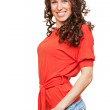 Cheerful young woman — Stock Photo #5160146