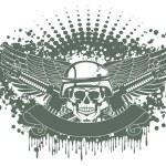 Army symbol — Stock Vector