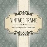 Vintage frame — Stockvector  #12534307