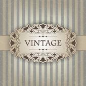 Cadre vintage — Vecteur