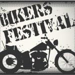 Bikers festival stamp — Stock Vector #13840648