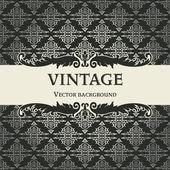 Vintage vector background — Stockvektor