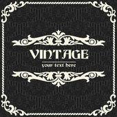 Vintage sfondo vettoriale — Vettoriale Stock