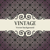 Vintage vector background — Vetorial Stock