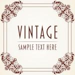 Decorative Vintage Frame — Stock Vector #18886931
