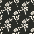 Vector Seamless Floral Background — Stok Vektör