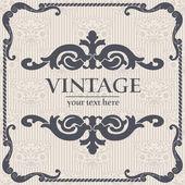 Vector vintage background — Stock Vector