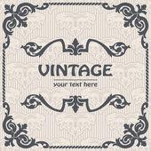 Vecteur fond vintage — Vecteur