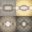 Royalty-Free Stock Векторное изображение: Set of Vintage frame