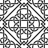 Celtic seamless pattern — Vector de stock