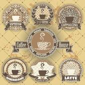 Zestaw do kawy symbol — Wektor stockowy