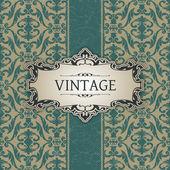 Vintage frame — Stok Vektör