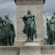 Millennium Monument - Heroes Square - Budapest — Stock Photo