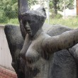 Stock Photo: Nude Female Statue - Communist Monument - Memento Park - Budapest