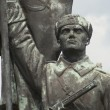 Red Army Soldier - Memento Park - Budapest — Stock Photo