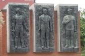 Bela Kun - Jeno Landler - Tibor Szamuely Memento Park - Budapest — Stock Photo