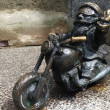 Wroclaw Krasnale (Dwarves) - Motorcyclist - Stock Photo