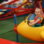 Child at Funfair — Stock Photo