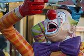 Clown Ride at Funfair or Theme Park — Stock Photo