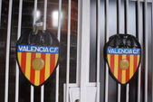 Valencia CF - Mestalla Stadium — Stock Photo