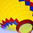 Ascending Hot-Air Balloon — Stock Photo