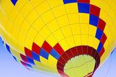 Ascending Hot-Air Balloon — Stock Photo