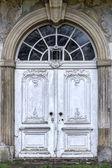 Old Round Arch Door — Stock Photo